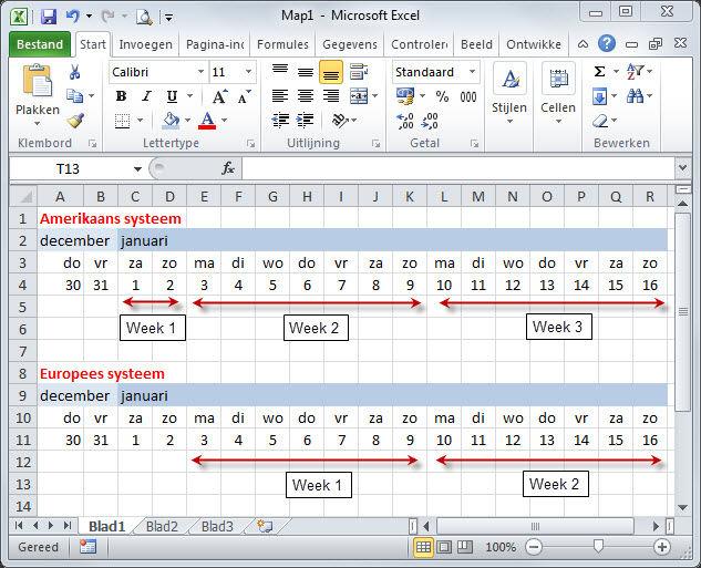 Citaten Weergeven Excel : Weeknummer deze week