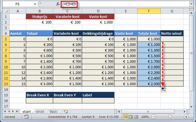 index formula excel