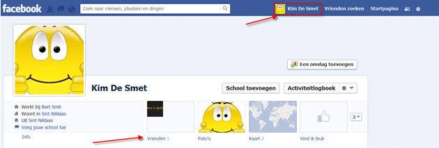 vrienden toevoegen facebook