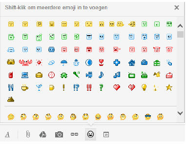 smiley invoegen in word