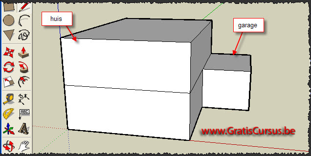 Gratis cursus google sketchup modification toolbar 7 for Huis zichtbaar maken google streetview