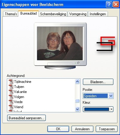 grootte beeldscherm aanpassen windows 10