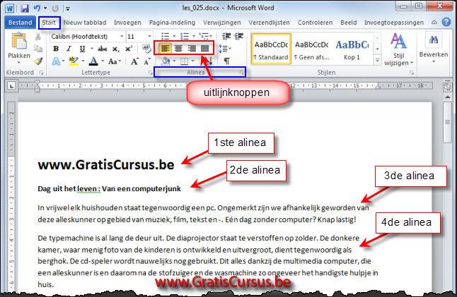 Encadrer un texte avec Word - Lecoindunet